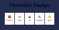 معرفی: چک لیست طراحی صفحات وب