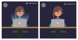 حالت شب (Night Mode) میتواند الگوی خواب افراد را تغییر دهد