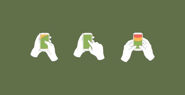 ۱۱ نکته برای طراحی ارگونومیک رابط کاربری موبایل