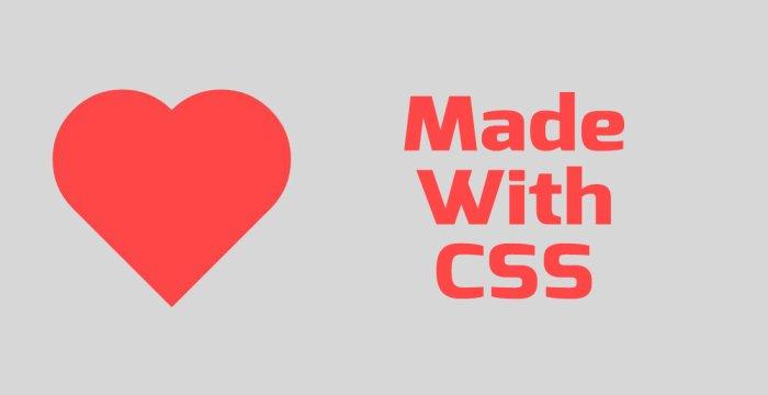 طراحی قلب با CSS