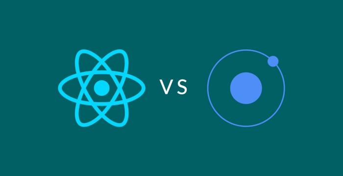 مقایسهی React Native  و Ionic