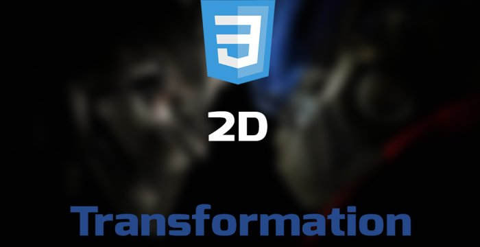 Transformهای دو بعدی در CSS3