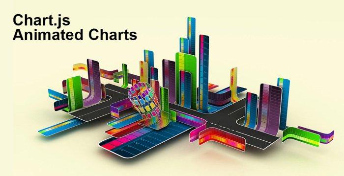 ساخت نمودار انیمیشنی با Chart.js