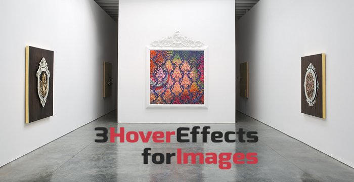 سه افکت فوق العاده برای Hover تصاویر