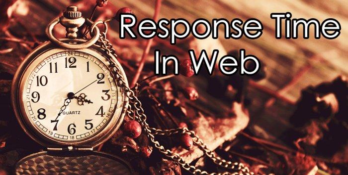 Response Time یا زمان واکنش سایت ها چیست ؟