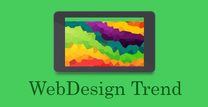ترند های جدید طراحی صفحات وب