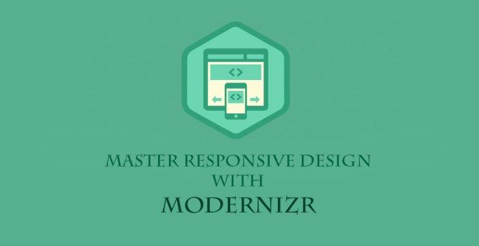 طراحی رسپانسیو حرفه ای با MODERNIZR