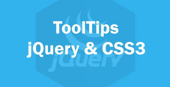 ساخت Tooltips با CSS3 و jQuery