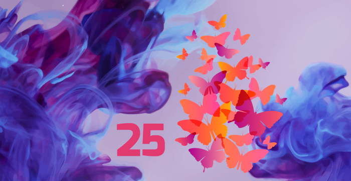 25 کارت ویزیت رنگارنگ