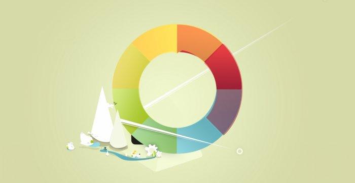 نظریه رنگ ها برای طراحان وب